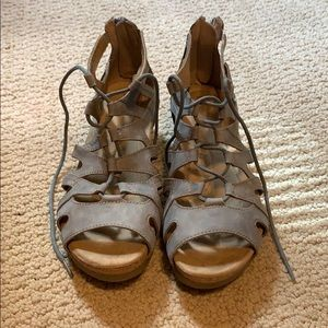 Earth Origins Blue Gladiator Sandals